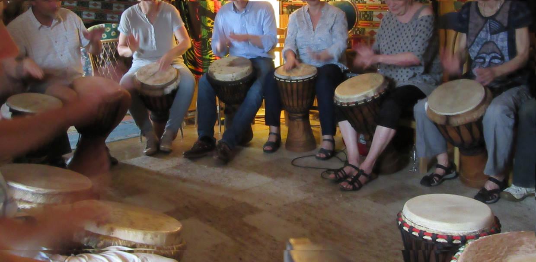 Afrikanisches Trommeln als Workshop