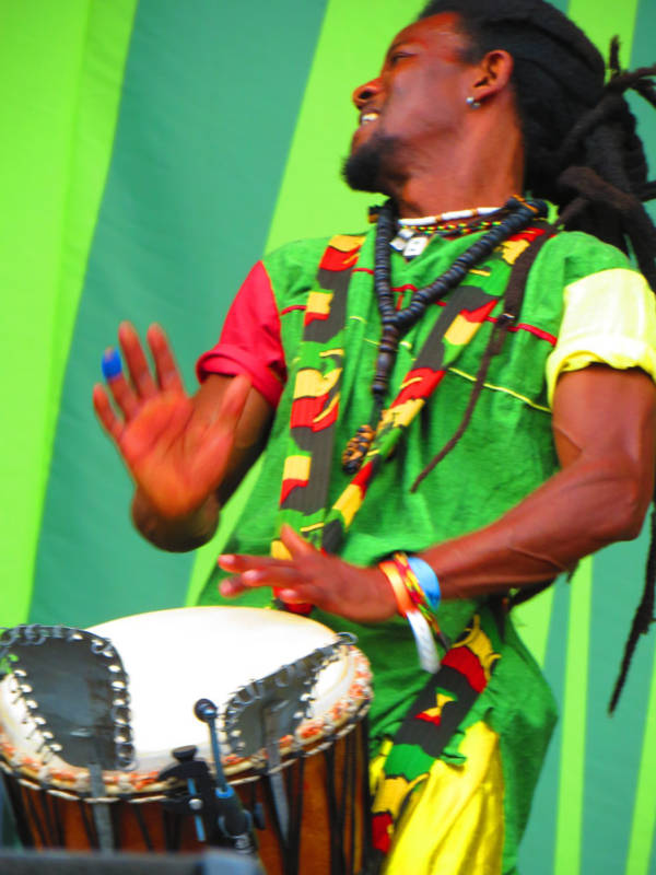 Percussion Djembé