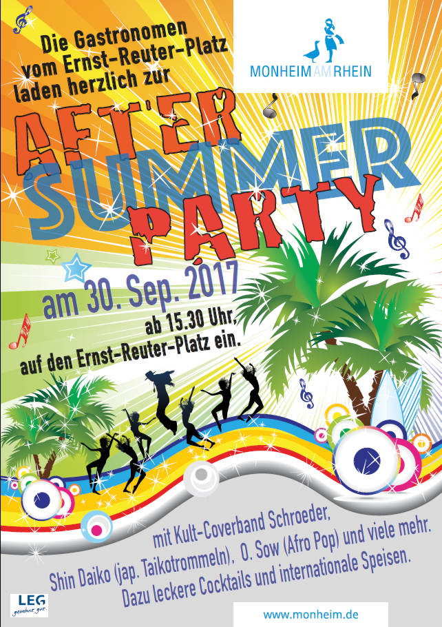 30.09.2017 - After Summer Party Monheim am Rhein